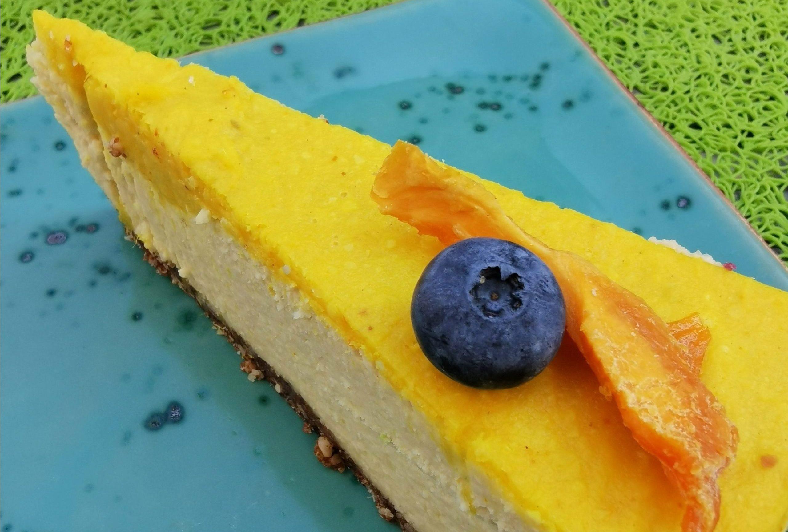 torta al mango vegan in Austria