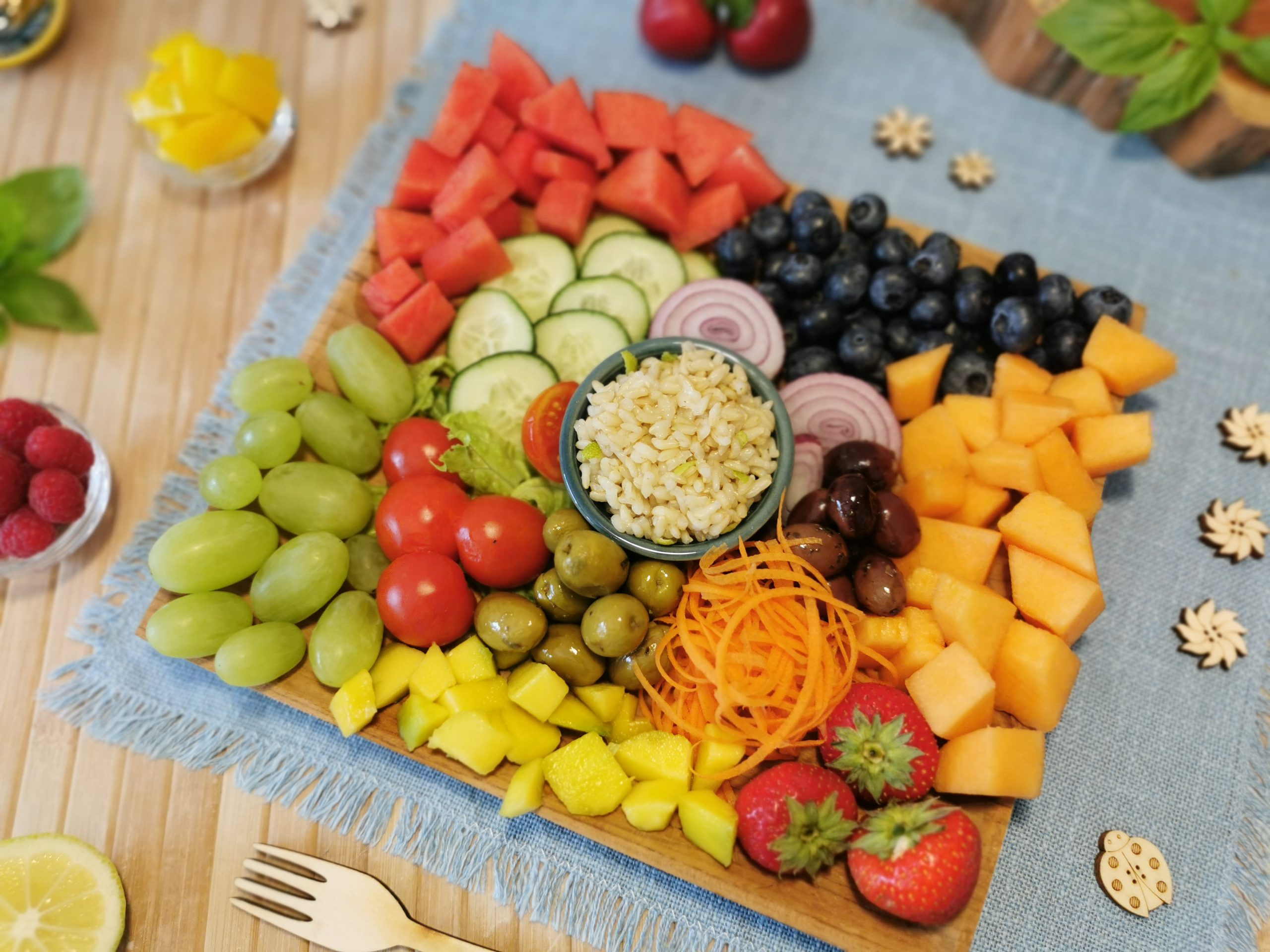 frutta e verdura estive per sportivi