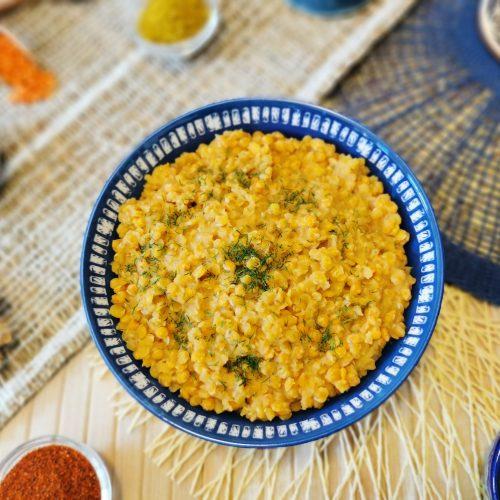 zuppa di lenticchie rosse al latte di cocco ricetta