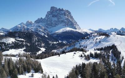 Una giornata con gli sci d'alpinismo ad Alleghe