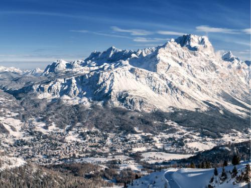 Con le ciaspole a Cortina d'Ampezzo