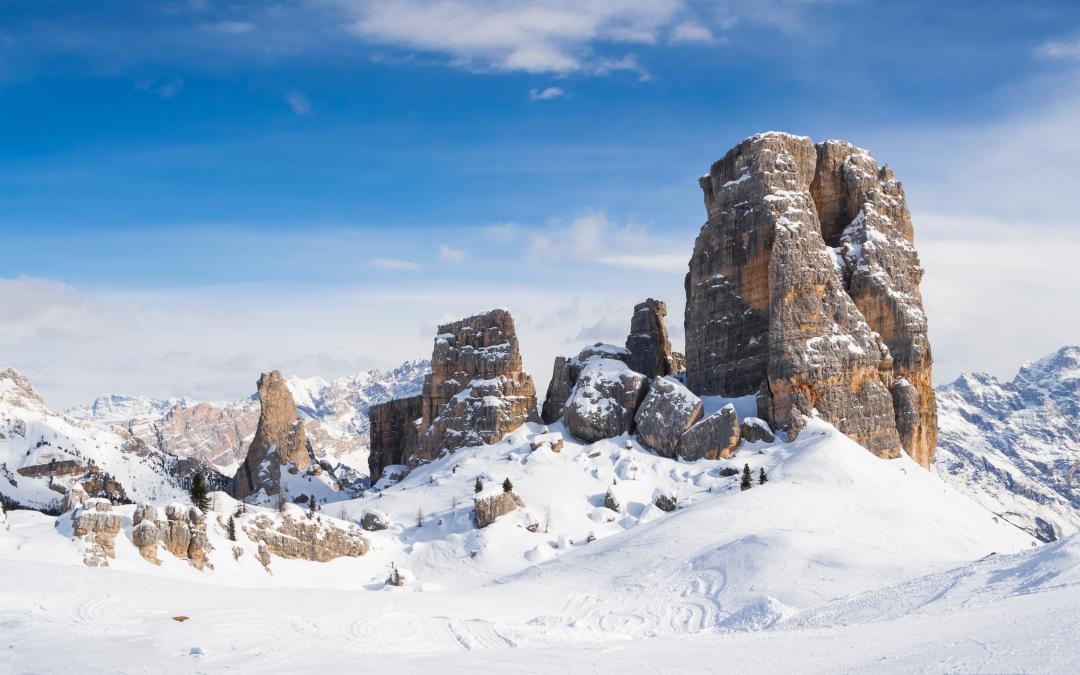 5 itinerari con le ciaspole a Cortina d'Ampezzo