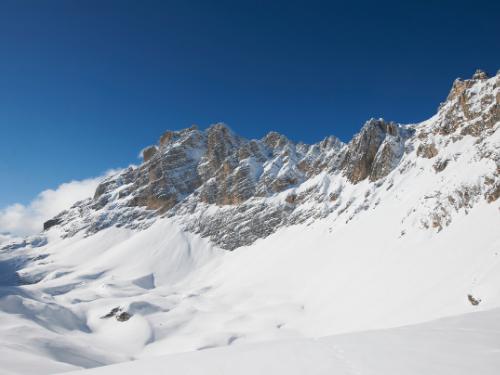 ciaspole a Cortina d'Ampezzo