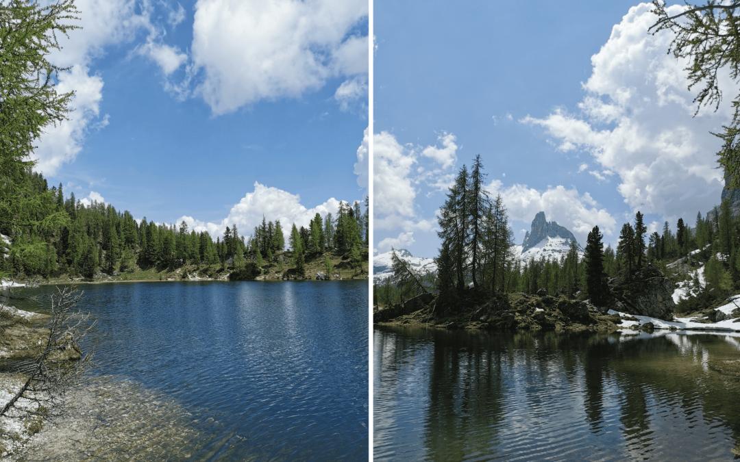 Da Passo Staulanza al Lago Federa e Becco di Mezzodì