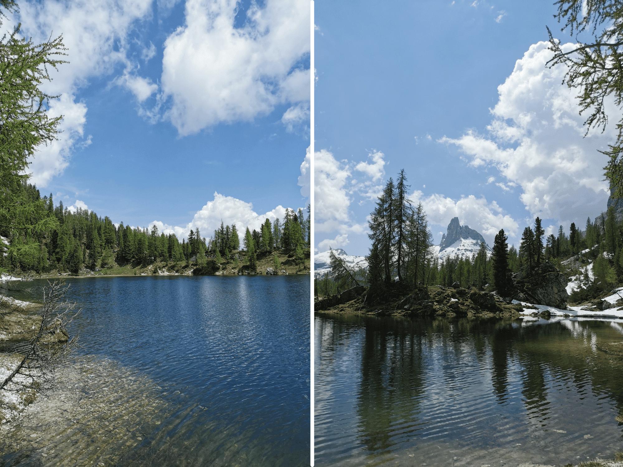 Da Passo Staulenza al Lago Federa