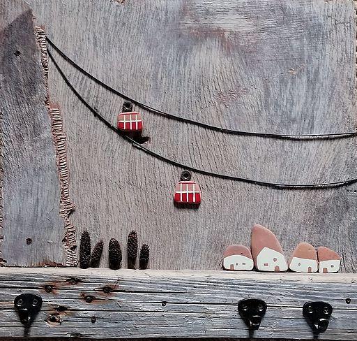 Funivie in legno - artigianato Alto Adige