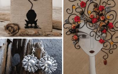 L'artigianato eco-friendly di Lizzy Bianconi: riciclo e molto di più